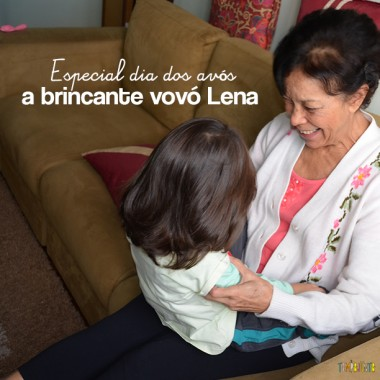 3 Brincadeiras da vovó Lena com os filhos da Patcamargo
