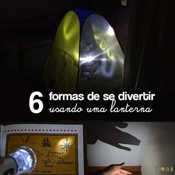 6 Brincadeiras lanterna