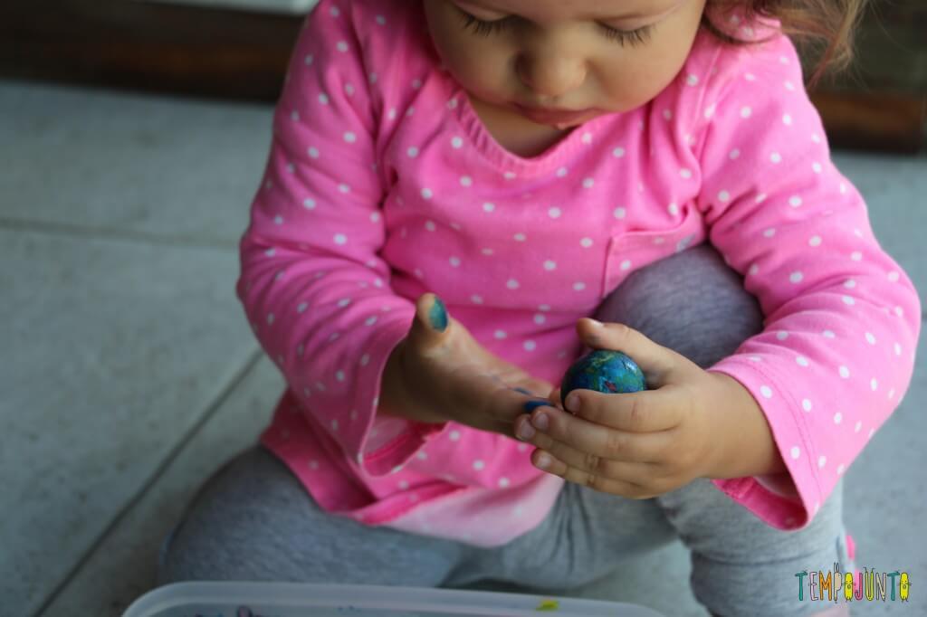 Arte para bebês - como fazer meu primeiro mestre da história da arte - Gabi com a bolinha