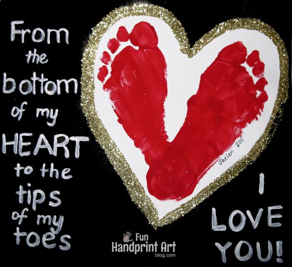 10 ideias criativas de cartão de Dia dos Avós feito pelas crianças - pé no coração