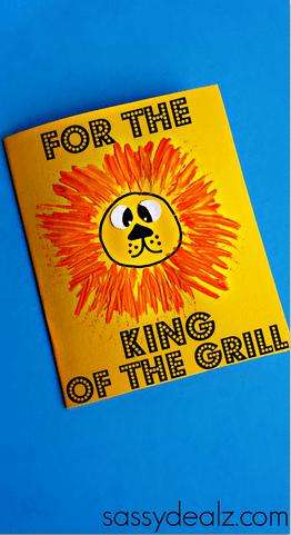 10 ideias criativas de cartão para o Dia dos Pais - para o rei