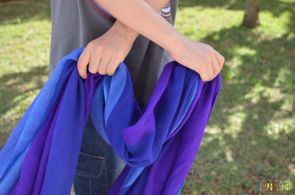 Magica para as crianças - tecido