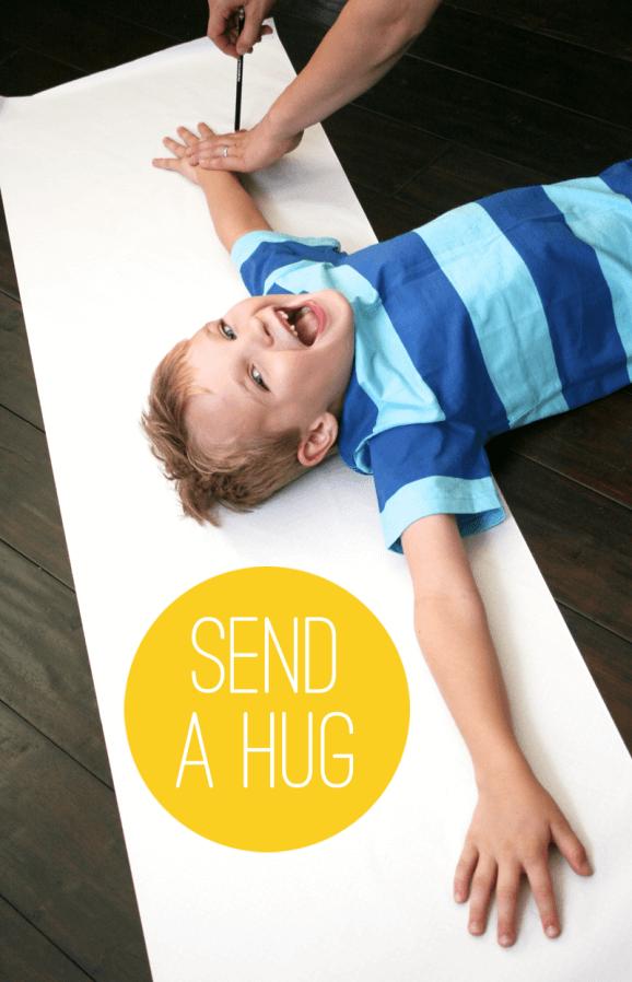 10 ideias criativas de cartão de Dia dos Avós feito pelas crianças - abraço do tamanho