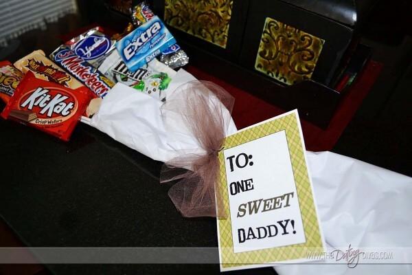 10 ideias de presentes caseiros para o Dia dos Pais - buquê de doce