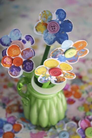 15 ideias criativas para fazer arte com flores - flor de rolha