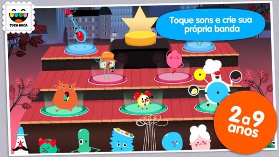 Aplicativos que trabalham a motivação das crianças - App toque sons