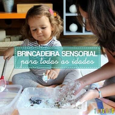 Brincadeira sensorial para todas as idades