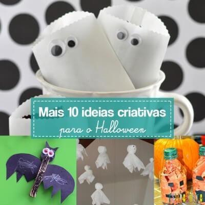 10 ideias criativas para o Halloween