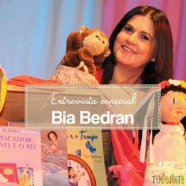 Bia Bedran fala sobre brincadeira, música e educação