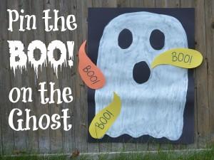Faça você mesmo ideias criativas para o Halloween - Acerte o fantasma