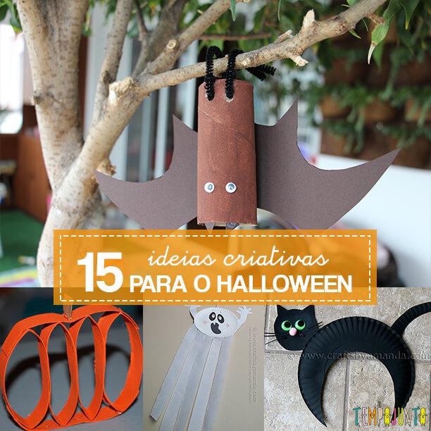 Faça você mesmo ideias criativas para o Halloween
