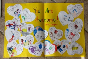 Mais 10 ideias de presentes para os professores que ainda dá tempo de fazer - cartao de coracoes