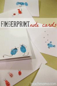 Mais 10 ideias de presentes para os professores que ainda dá tempo de fazer - cartao de impressao digital