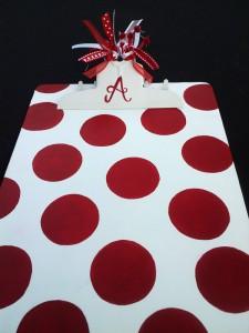 Mais 10 ideias de presentes para os professores que ainda dá tempo de fazer - prancheta customizada