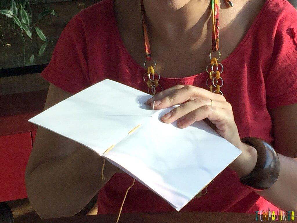 Presente artesanal para o Dia dos Professores - costurando 1