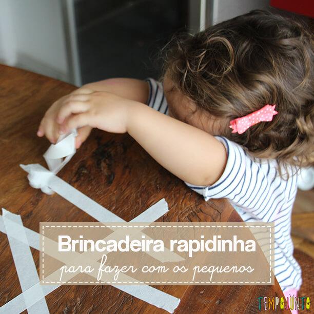 10 minutos para brincar com os filhos pequenos