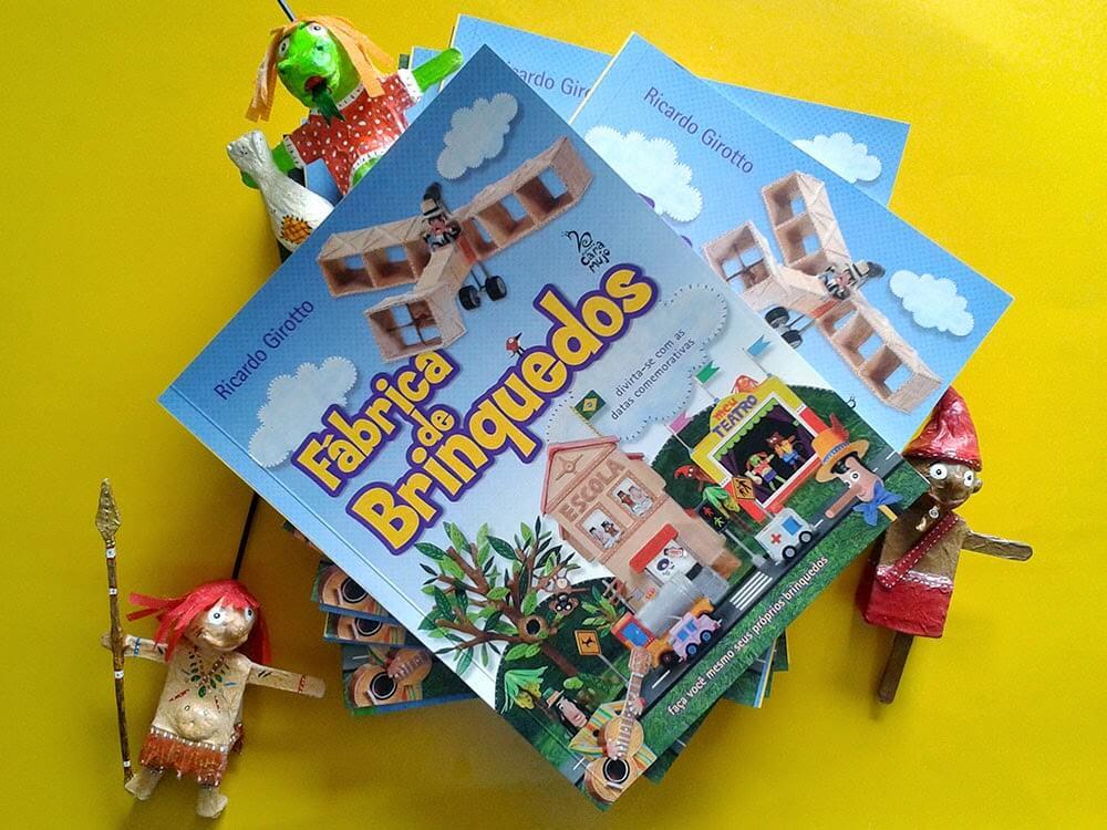 A fábrica de brinquedos de Ricardo Girotto - livro