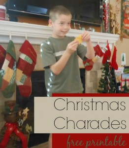 10 ideias de brincadeiras de Natal - charada de Natal