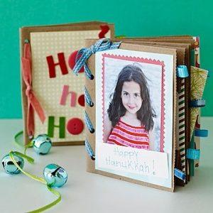 10 ideias de presentes para fazer com os filhos - scrapbook