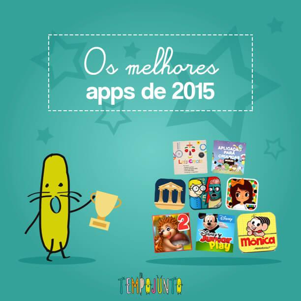 Os melhores apps para as crianças