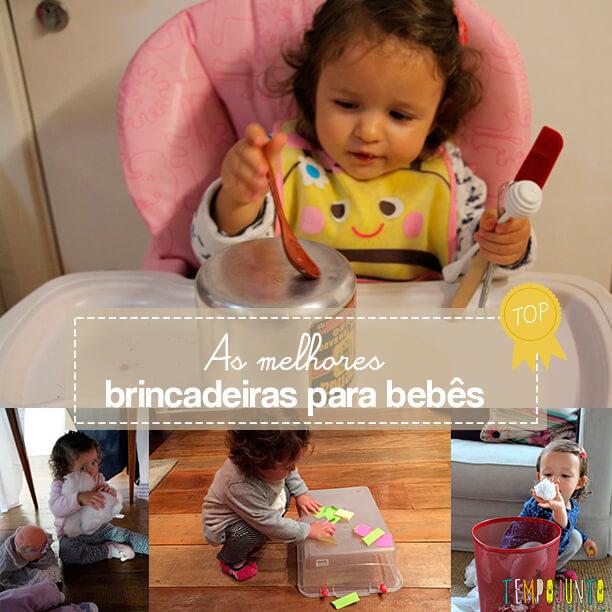 As melhores brincadeiras para bebês de 18 a 24 meses