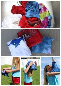 20 Brincadeiras refrescantes para um dia quente - corrida da camiseta congelada