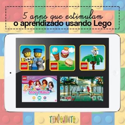 5 apps que estimulam o aprendizado usando Lego