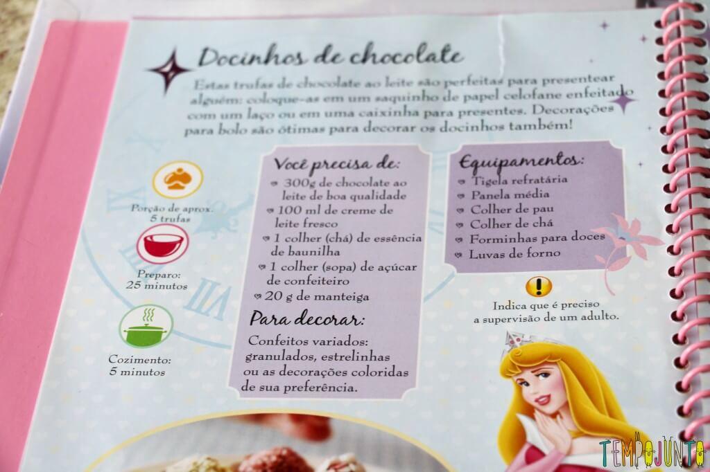 Sobremesa fácil de chocolate - receita