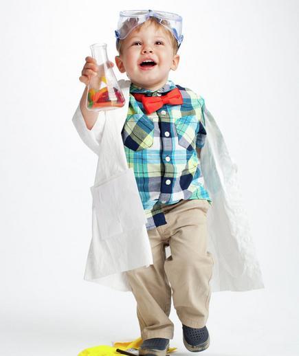 10 fantasias de última hora para as crianças - cientista maluco