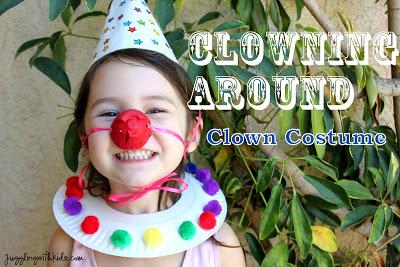 10 fantasias de última hora para as crianças - fantasia de palhaco