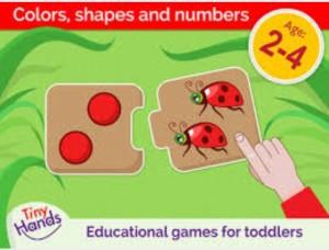 5 apps para estimular o raciocínio lógico das crianças - tiny hands qual e o meu par app