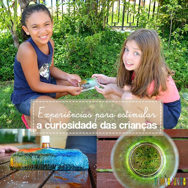 Brincadeiras que estimulam a curiosidade dos jovens cientistas
