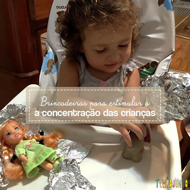 Como estimular a concentração dos filhos