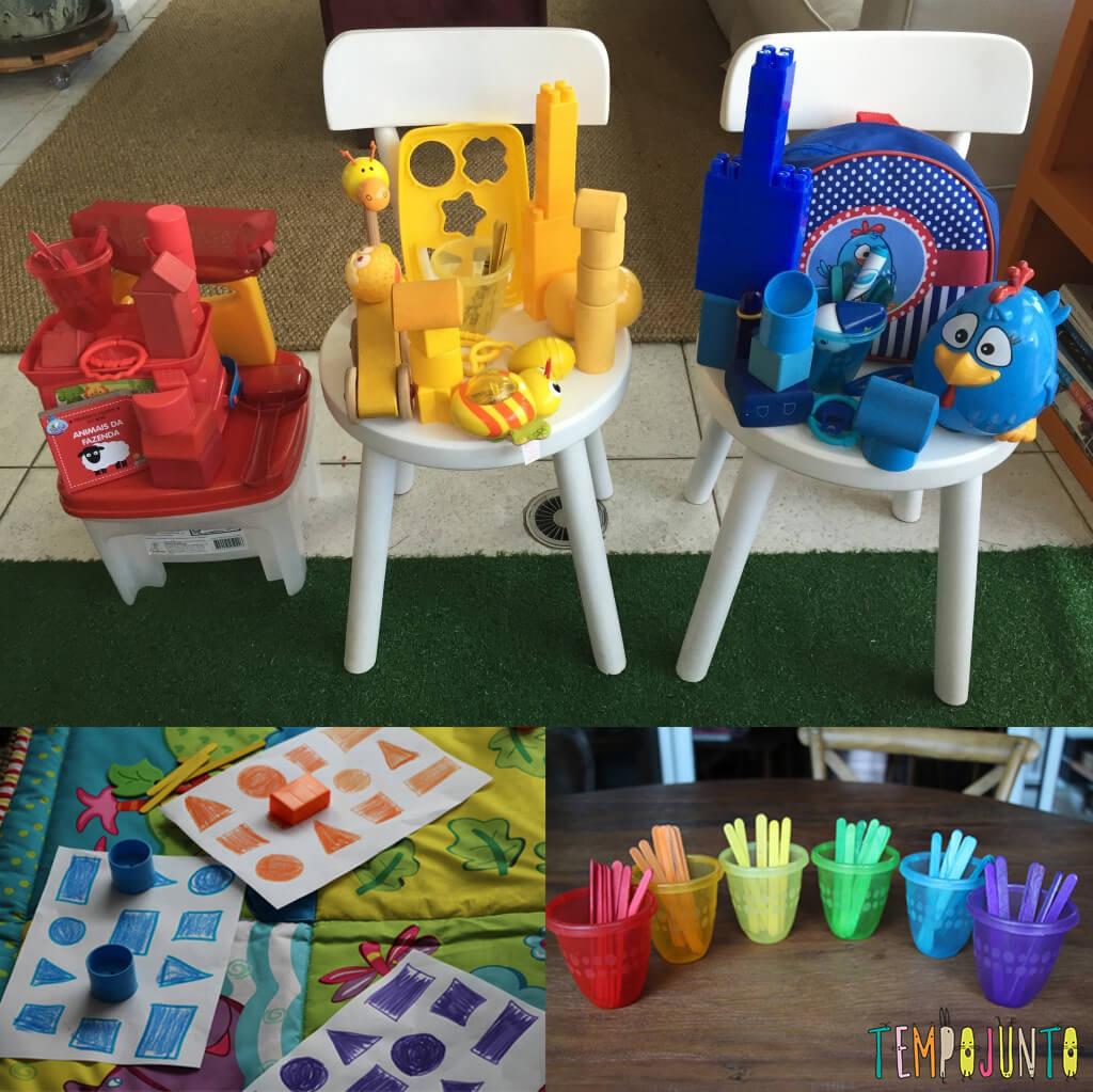10 ideias de brincadeiras coloridas - maneiras divertidas de ensinar as cores
