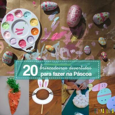 20 ideias para se divertir na Páscoa