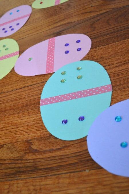 20 ideias para se divertir na Páscoa - domino de ovo