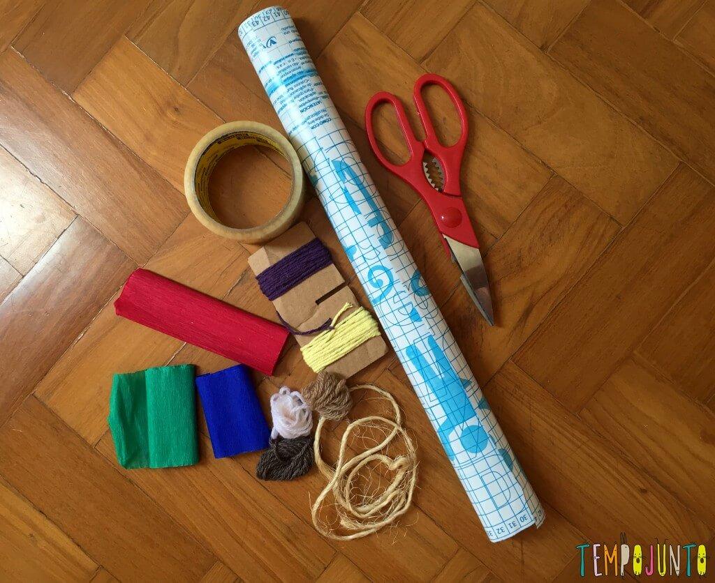 Explorar materiais- uma atividade e tanto para as crianças - materiais