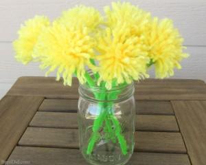 10 ideias de presentes para fazer em casa para as mães - flores de lã