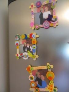 10 ideias de presentes para fazer em casa para as mães - porta retrato na geladeira