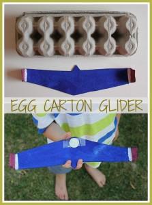 10 maneiras de brincar de avião - aviao de caixa de ovo