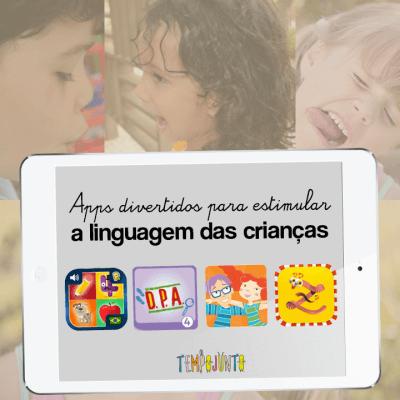 Apps divertidos para estimular a linguagem das crianças