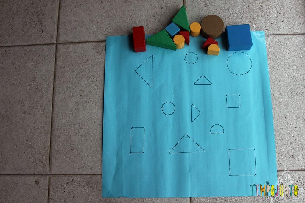 Como fazer um jogo de encaixe para as crianças - jogo pronto
