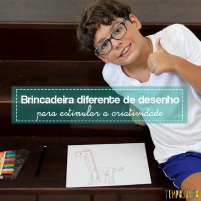 Vamos estimular a criatividade das crianças?
