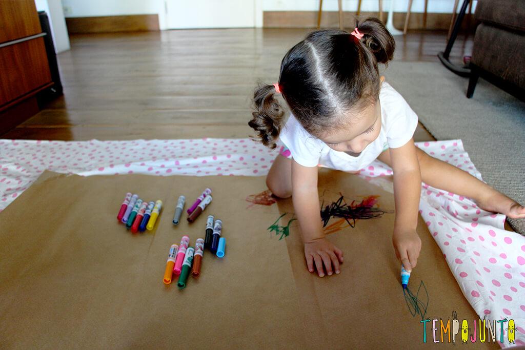 melhores atividades de artes para crianças de 2 a 3 anos pintura