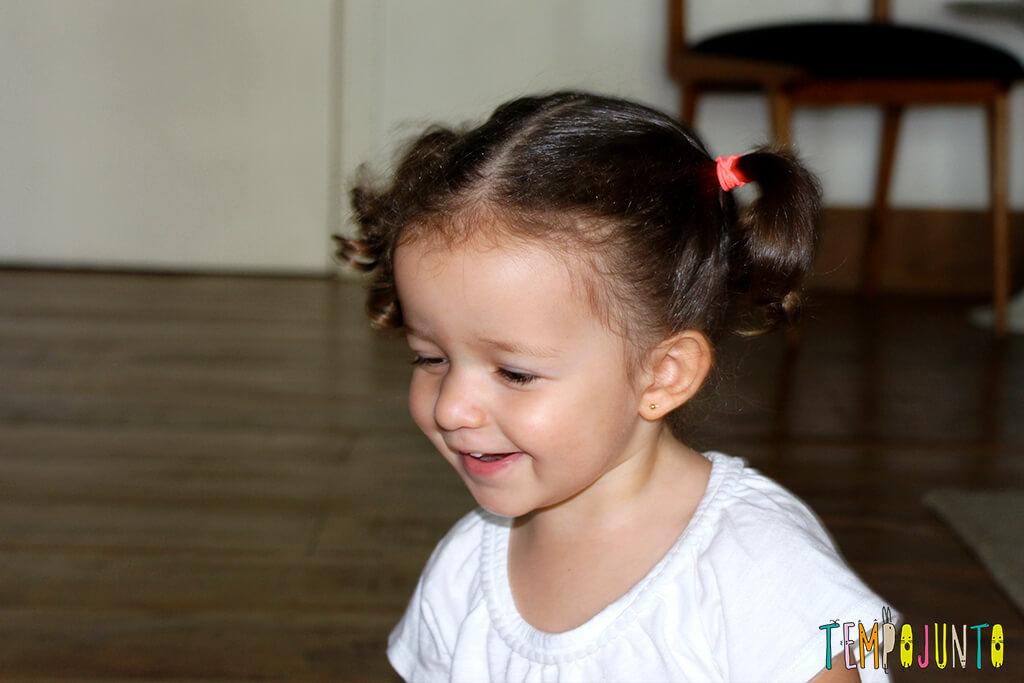 Vamos estimular a criatividade dos pequenos - gabi sorrindo