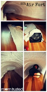 10 maneiras de fazer uma cabana em casa - cabana de vento