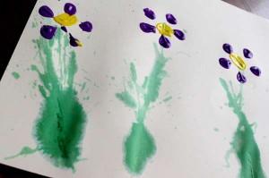 17 ideias criativas para o Dia das Mães - cartaz de flores