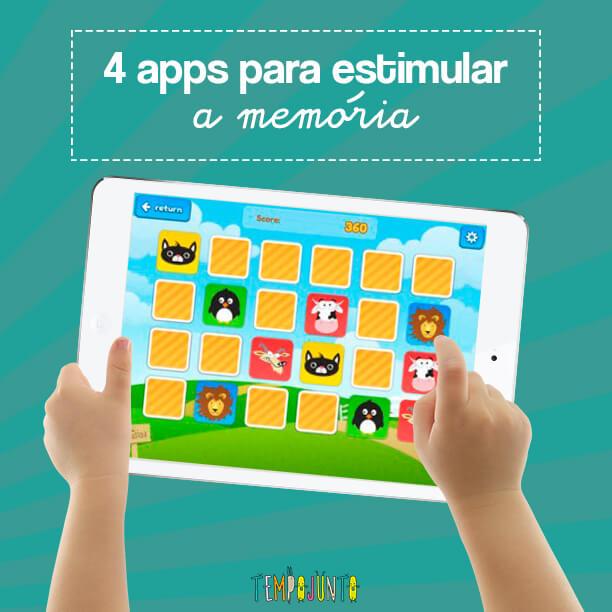 Memória turbinada na brincadeira com apps bem legais