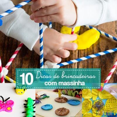 10 maneiras de brincar de massinha
