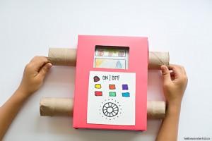 10 ideias de atividades para fazer nas férias das crianças - tv de caixa de papelão